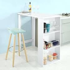 table bar rangement cuisine table bar de cuisine avec rangement cuisine avec rangements blanc