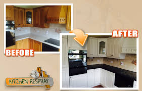 how much does it cost to respray kitchen cabinets kitchen respray services