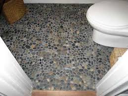 pebble floor bathroom design ideas home design garden