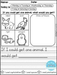 free writing journals and paper kindergarten writing journals