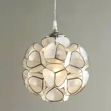 glass pendant light shades art glass pendant lights amusing shell light shades for your mini