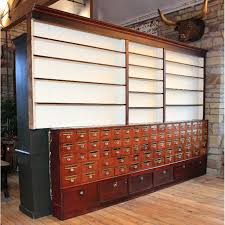 Vintage Pharmacy Cabinet Antique Pharmacy Dispensary Cabinet Andy Thornton