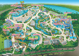 Orlando Parks Map by Map Adventure Island Tampa Waterpark