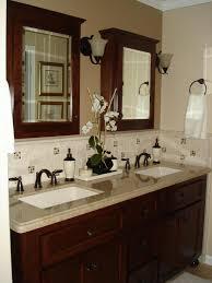 bathroom backsplashes ideas bathroom sink backsplash ideas innovative bathroom backsplash