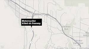 210 Freeway Map Chp Seeks Driver Of Vehicle That Fatally Struck Man Walking On
