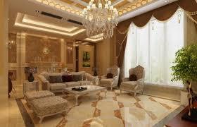 neoclassical living room 3d interior interior design