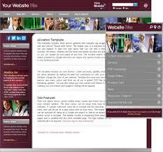 burgundy chromemed color sample web template with mobile