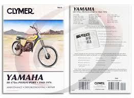 1974 1976 yamaha yz125 repair manual clymer m410 service shop
