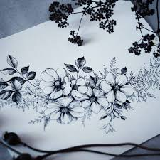 photos drwaing flowers sketches drawing art gallery