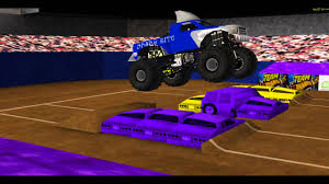 youtube monster truck jam shark bite custom monster truck theme song youtube