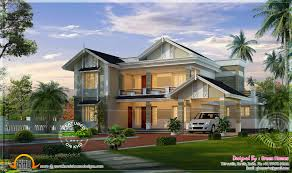 modern style villa in 297 square meter kerala home design and