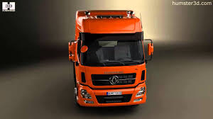 dongfeng denon tractor truck 2012 3d model by humster3d com youtube