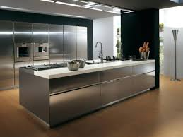 stainless steel topped kitchen islands stainless steel kitchen island folrana