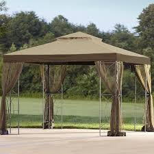 Replacement Canopy by Essential Garden Callaway Gazebo Replacement Canopy Top Shop