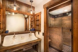 Bathroom Fixtures Sacramento Tahoe Lakeview Rustic Bathroom Sacramento By Welling