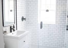 bathroom enchanting black and white ideas designs traditional wall
