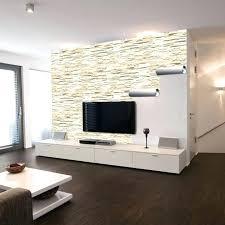 bild fã r wohnzimmer wohnwand steinoptik marcusredden