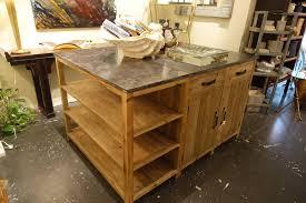 wood kitchen island top rustic reclaimed wood kitchen island ideas the clayton design