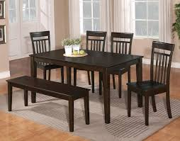 Kitchen Table With Bench Seating Useful Dining Room Table With - Laminate kitchen tables