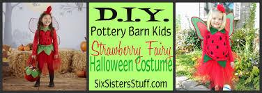 Green Fairy Halloween Costume Diy Pottery Barn Kids Strawberry Fairy Halloween Costume Tutorial