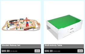 Melissa And Doug Train Table Lil Luxe Free Shipping 20 Off Already Discounted Items Happy