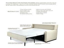 Sleeper Sofa Prices Comfort Cloud Sleeper Sofa Bed Mattress Pad Most Comfortable 8212