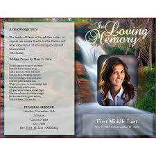 Samples Of Memorial Programs 22 Best Funeral Images On Pinterest Program Template Funeral
