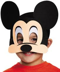 mickey mouse mask accessories makeup