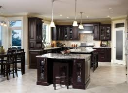kitchen cabinets cherry finish kitchen craft u0027s chiseled brookfield door displays the darkness of