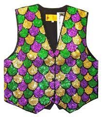 mardi gras vest sequin vest mardi gras shells tuesday