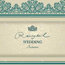 royal wedding invitation royal wedding invitation vintage lace border blue