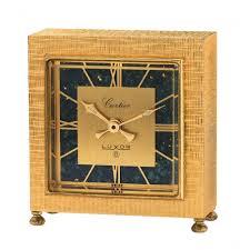 salcedo auctions luxor desk clock mechanical