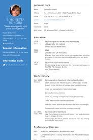 Health Information Management Resume Sample by Administrative Assistant Resume Samples Visualcv Resume Samples