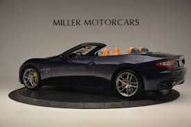 maserati granturismo convertible blue 2017 maserati granturismo sport stock m1641 for sale near