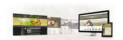 funeral home web design shonila com