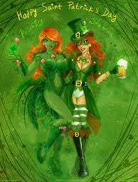 shamrock and poisonivy st patricks day style by lucithea on
