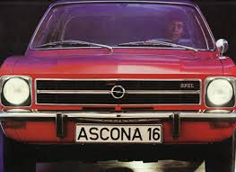 opel ascona opel ascona brochure