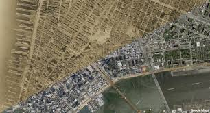 New York Google Map by New York Aerial Map From 1921 1300x700 Mapporn