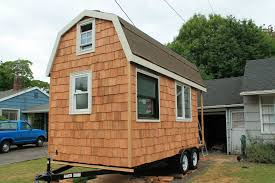 Four Lights Tiny House Tiny House Tour Folddown Wall Brings Outside In Tiny House Tour