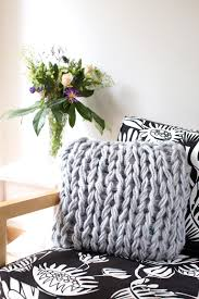 Patterns For Knitted Cushion Covers Diy Arm Knit Cushion Cover