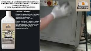 come pulire il piano cottura come lucidare le superfici in acciaio inox opache o rovinate