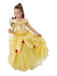 wizard costume child disney princess premium belle costume kids fancy dress from play