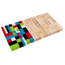 kidkraft wooden block playset 63242 the home depot