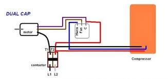 4 wire ac condenser fan motor wiring diagram tags 4 wire