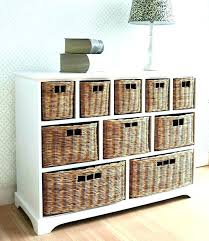 Wicker Basket Bathroom Storage Wicker Storage Drawer Storage Unit Wicker Baskets Wicker