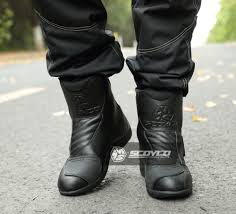 motorbike boots for short riders aliexpress com buy scoyco racing leather motorcycle boots