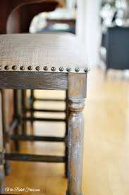 new kitchen island stools at the picket fence