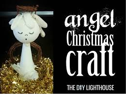 angel christmas craft for the whole family only 5 the diy