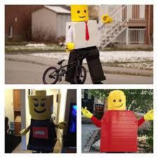Lego Brick Halloween Costume Amazing Diy Lego Costumes