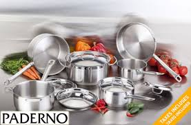 paderno cookware set 69 offered on tuango ca